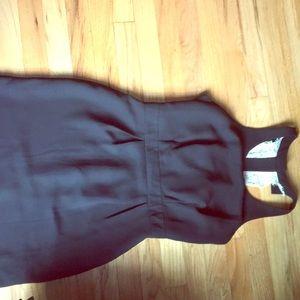 Lauren Conrad black bow tie  dress